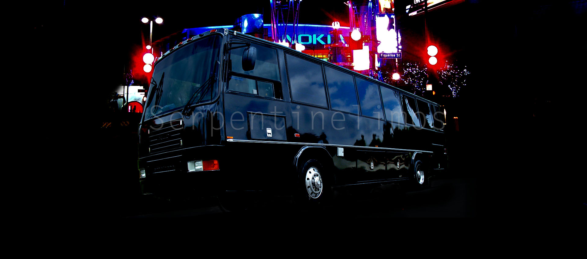 35 Passenger Party Bus in Los Angeles